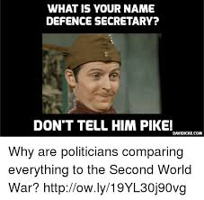 Pike Meme - what is your name defence secretary don t tell him pike