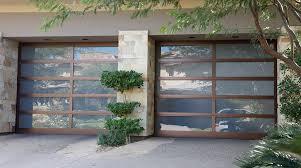 10x10 garage door modern glass garage doors