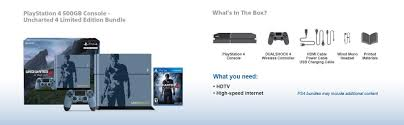 how much the ps4 in amazon in black friday amazon com playstation 4 500gb console uncharted 4 limited