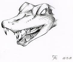 alligator tattoo design by raukozan on deviantart