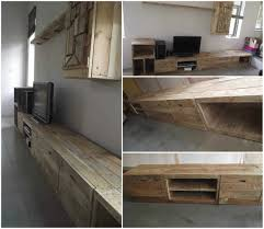 pallet tv stand design home design ideas
