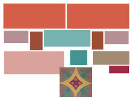 terracotta color palette created my color scheme terra cotta