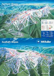 Montana Weather Map by Mt Buller Trail Map U2022 Piste Map U2022 Panoramic Mountain Map