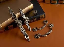 cabinet handles with backplate antique bronze dresser pulls handles backplate flower drawer handle