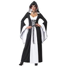 hooded robe vampire costume