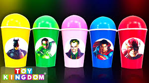 superman peppa pig and other balls surprise cups dc superheroes toys batman vs superman joker