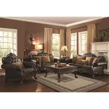 Coaster Leather Sofa Coaster Furniture 504631 Amairani Leather Sofa In Brown
