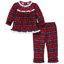 me 2pc plaid pajamas flannel 18