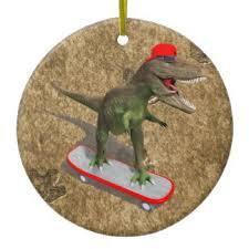 t rex ornaments keepsake ornaments zazzle