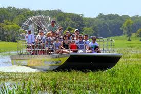 Florida wildlife tours images Airboat ride at wild florida with transportation jpg