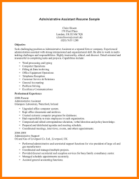 administrative assistant sample resume 7 sample resume for admin assistant lpn resume related for 7 sample resume for admin assistant