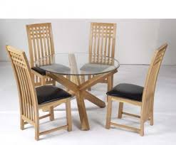 2 Seater Dining Table And Chairs Ophelia Round Glass Dining Table And Chairs Around The House