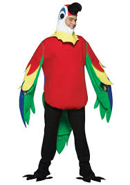 Flamingo Halloween Costume Adults Parrot Costume