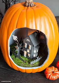 halloween pumpkin diorama lia griffith