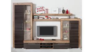 Wohnzimmerschrank Trend 2016 Nemann Vechta Wohnwand Mit Vitrinen Und Einem Tv Lowboard In