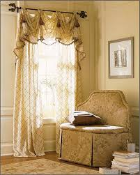 Dining Room Decor Ideas by Interior Cream Diamond Living Room Drapes With Valence For Living