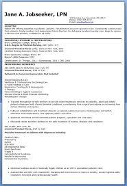 lpn resume exle sle lpn resume resume templates