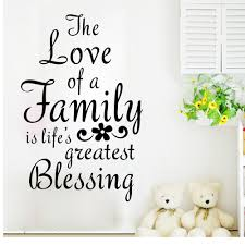 Aliexpresscom  Buy Family Quotes Wall Decals PVC Vinyl Living - Family room quotes
