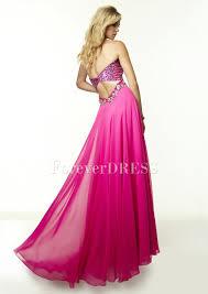 rhinestone chiffon best places to buy prom dress