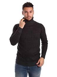 mens turtleneck sweater antony morato mens wool blend checkered cable knit slim turtleneck