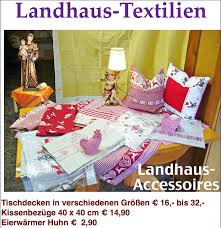 K He Landhausstil Landhaus Accessoires Landhaus Tischdecken Karlsruher Brigändle
