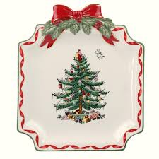 spode tree gold ribbons canapé plate 15 you save 15 00
