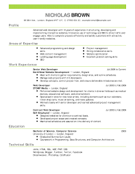 Build A Resume Free Online by Curriculum Vitae Example Curriculum Vitae In English Software