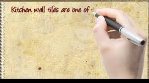 diy kitchen wall tiles tips for decorating your kitchen youtube