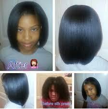 short pressed hairstyles natural hair in a silk press natural hair can still look good