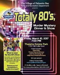 totally 80s cd mystery dinner show totally 80 s sold out thalatta estate
