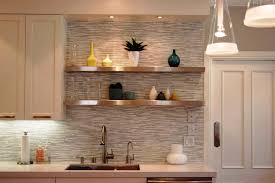 Kitchen Shelf Designs by Protect Your Kitchen Walls Using Kitchen Backsplash Tile
