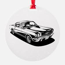 mustang ornament cafepress