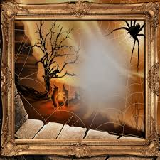 halloween frame 1 free stock photo public domain pictures
