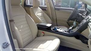 seat covers ford fusion leather seat covers for 2013 16 ford fusion se se hybrid katzkin