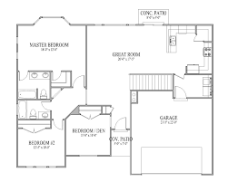 floor rambler floor plans rambler floor plans