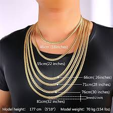 womens necklace chains images U7 18k gold plated chain men summer jewelry 6mm unique snake chain jpg