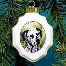 dalmatian ornaments mosaic