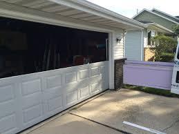 Overhead Garage Door Replacement Panels by Repair Broken Garage Door Panels Same Day Garage Door Repair