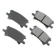 lexus rx350 brake pads akebono act996 pro act ultra premium ceramic rear disc brake pads