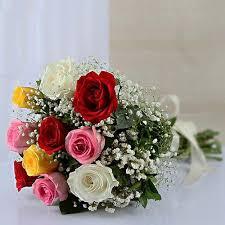 multicolor roses multicolor bouquet at rs 499 bouquet id