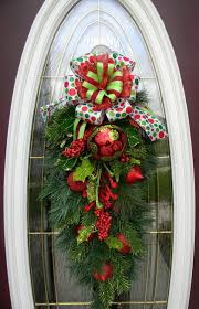 123 best floral swags images on floral swags door