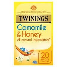 twinings camomile and honey 20 tea bags 30g tesco groceries