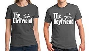 matching boyfriend and girlfriend couple shirts tee shirts