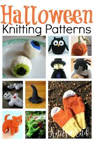 kinda fun u0026 kinda freaky halloween knitting patterns knits u0027 end
