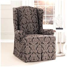 wingback chair slipcovers furniture best wingback chair slipcover collections comeauxband com