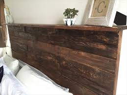 rustic queen headboard best 10 rustic headboards ideas on