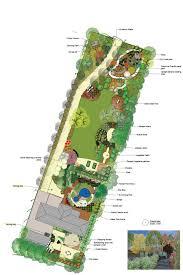 Home Design Cad Landscape Design Sample 5 Cad Design Layout Of Family Rear Garden