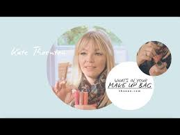 what s in your makeup bag kate thornton