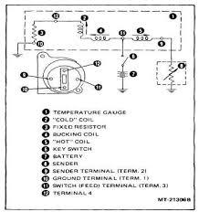 figure 19 water temperature gauge circuit diagram