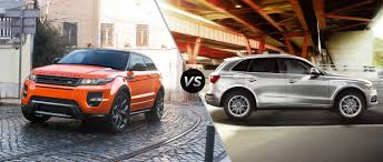 land rover vogue 2015 range rover evoque vs 2015 audi q5